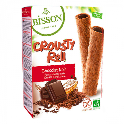 Crousty roll chocolat noir - 125g