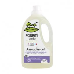 Assouplissant à l'huile essentielle de lavande bio - 1.5L La Fourmi Verte