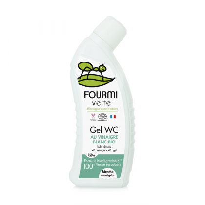 Gel WC - Menthe & Eucalyptus - 750mL La Fourmi Verte