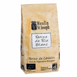 Farine de riz blanc bio - 1kg Moulin St Joseph