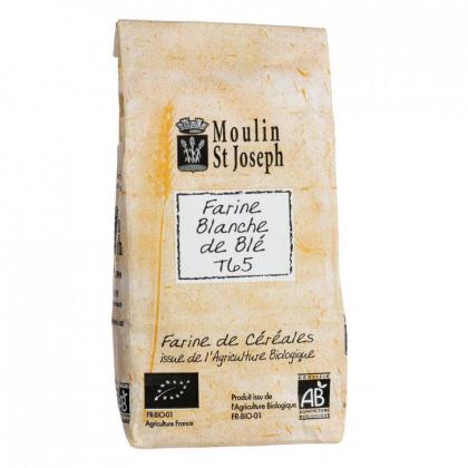 Farine de blé T65 bio - 1kg Moulin St Joseph