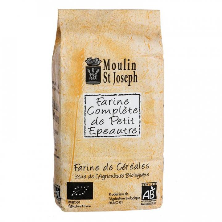 Farine complète de petit épeautre bio - 1kg Moulin St Joseph