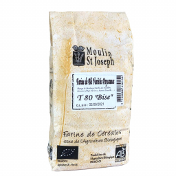 Farine de blé paysanne T80 - 1kg