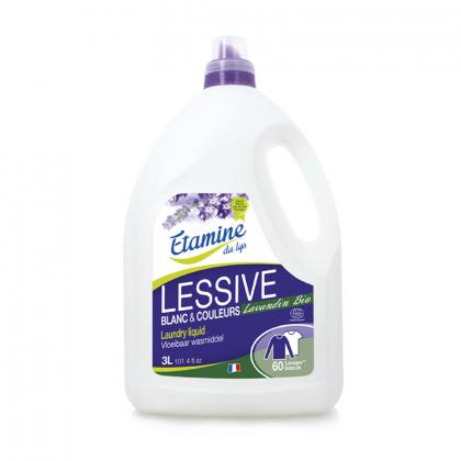 Lessive liquide - Lavandin - 3L Etamine du Lys