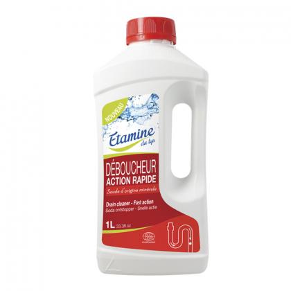Déboucheur canalisations action rapide - 1L Etamine du Lys