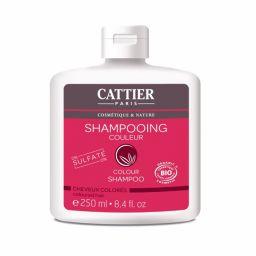 Shampoing Couleur 0% Sulfate Cheveux Colorés 250ml CATTIER