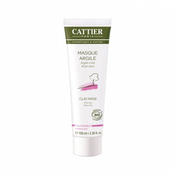 Masque argile rose peaux sensibles - 100ml