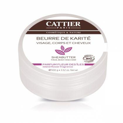 Beurre de karité parfum fleurs des iles - 100g