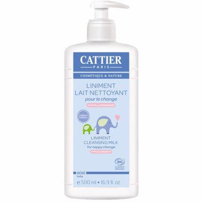 Liniment Lait Nettoyant  Pour Change Bio 500ml CATTIER