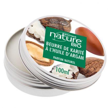 Beurre de karité à l'huile d'argan - 100ml