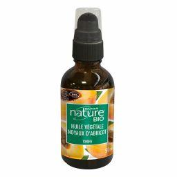 Huile végétale de noyaux d'abricots - 50ml