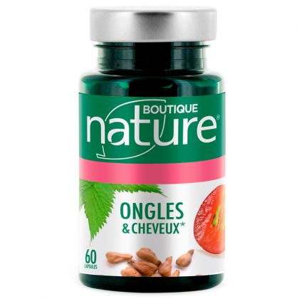 Ongles & Cheveux 60 Capsules BOUTIQUE NATURE