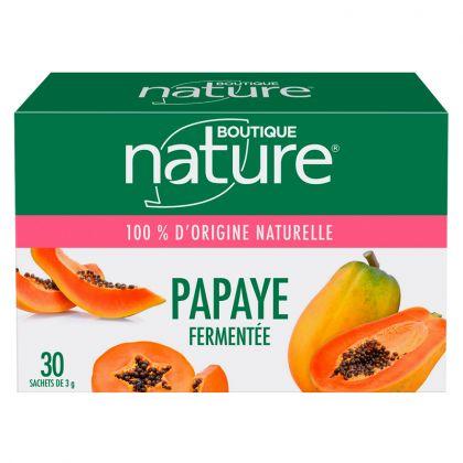 Papaye Fermentée 30 Sachets de 3 g BOUTIQUE NATURE