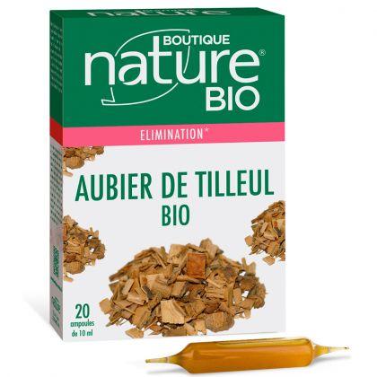 Aubier De Tilleul Phyto Concentré Bio 20 Ampoules de 10 ml BOUTIQUE NATURE