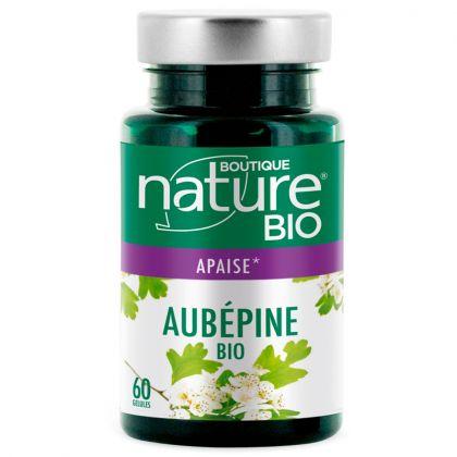 Aubépine Bio 60 Gélules BOUTIQUE NATURE