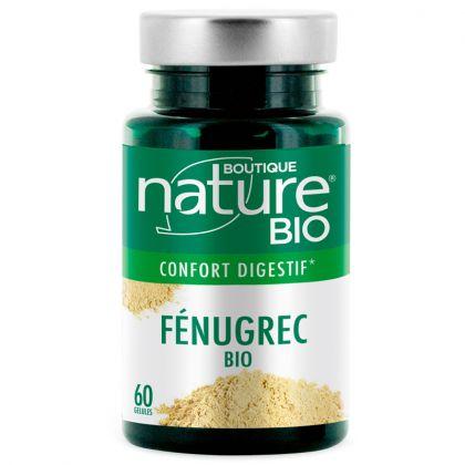 Fénugrec Bio 60 Gélules BOUTIQUE NATURE