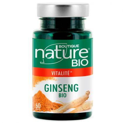 Ginseng Bio 60 Gélules BOUTIQUE NATURE