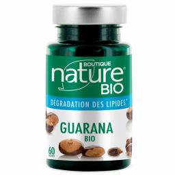 Guarana Bio 60 Gélules BOUTIQUE NATURE