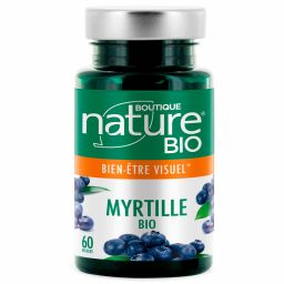 Myrtille Fruit Bio 60 Gélules BOUTIQUE NATURE