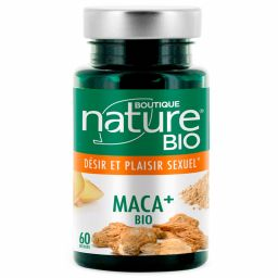 Maca + Bio 60 Gélules BOUTIQUE NATURE