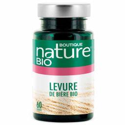 Levure De Bière Bio 60 Gélules BOUTIQUE NATURE
