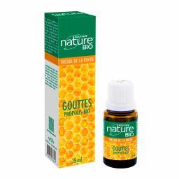Gouttes Propolis Bio 99,8% 15ml BOUTIQUE NATURE