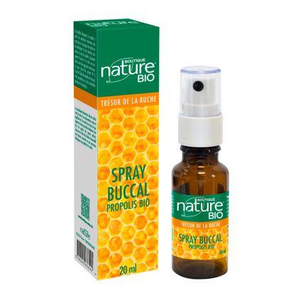 Spray Buccal Propolis Bio 20ml BOUTIQUE NATURE