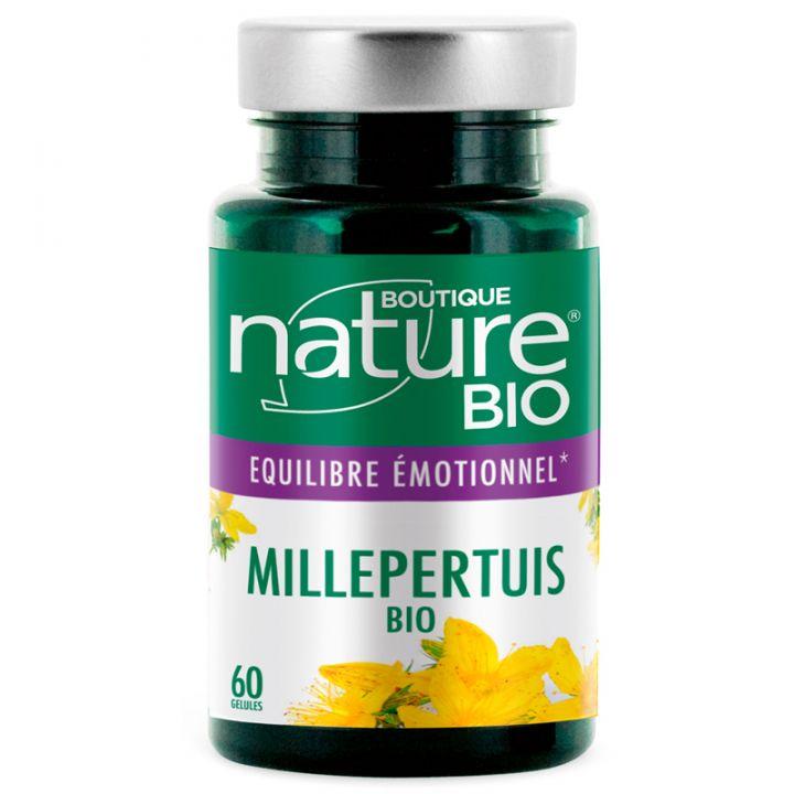 Millepertuis Bio 60 Gélules BOUTIQUE NATURE