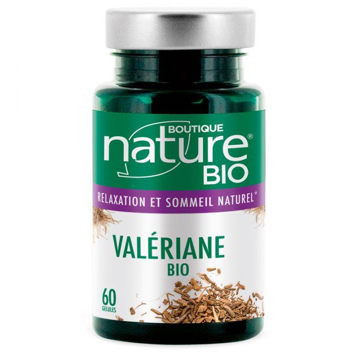 Valériane Bio 60 ou 180 Gélules BOUTIQUE NATURE