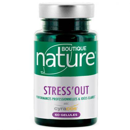 Stress'Out 60 Gélules BOUTIQUE NATURE