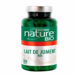 Lait De Jument Bio 60 ou 180 Gélules BOUTIQUE NATURE