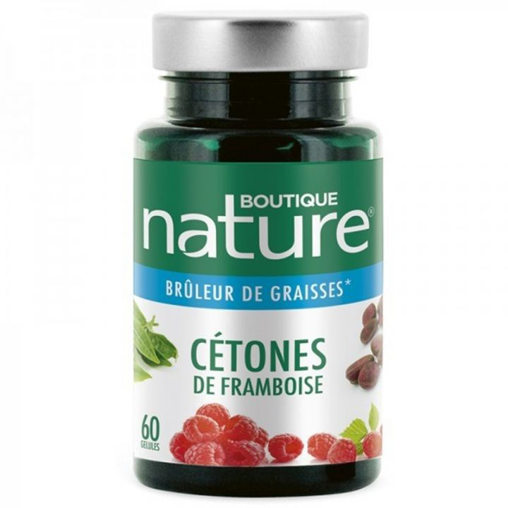 Cétones De Framboise 60 Gélules BOUTIQUE NATURE