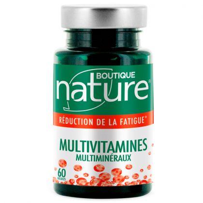 Multivitamines Multiminéraux 60 Gélules BOUTIQUE NATURE