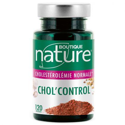 Chol'control 120 Gélules BOUTIQUE NATURE
