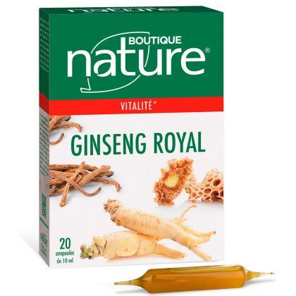 Ginseng Royal 20 Ampoules de 10ml BOUTIQUE NATURE
