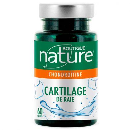 Cartilage de Raie 60 Gélules BOUTIQUE NATURE