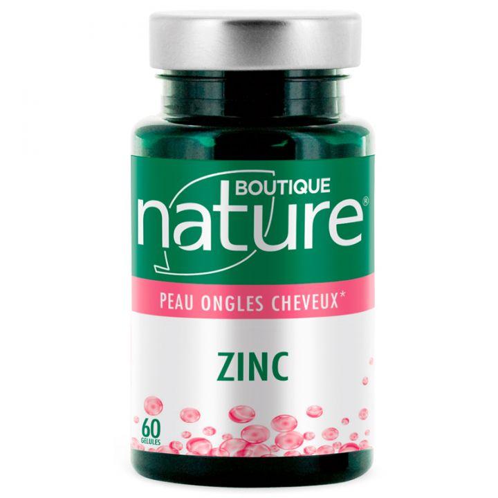 Zinc 60 Gélules BOUTIQUE NATURE