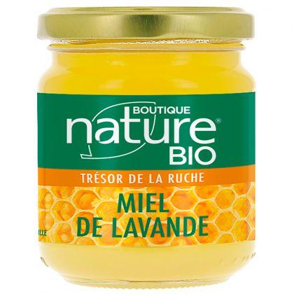 Miel de Lavande Provence Bio 250g BOUTIQUE NATURE