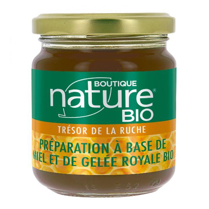 Miel et Gelée Royale Bio 250g BOUTIQUE NATURE