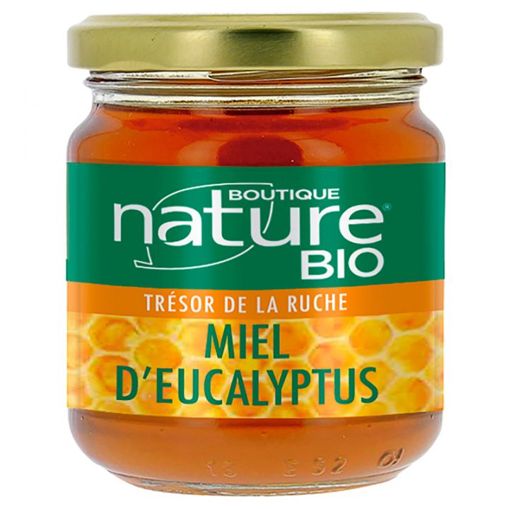 Miel d'Eucalytus Bio 250g BOUTIQUE NATURE