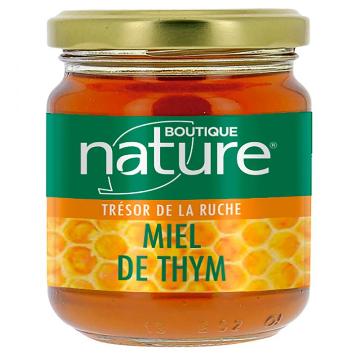 Miel de Thym 250g ou 500g BOUTIQUE NATURE