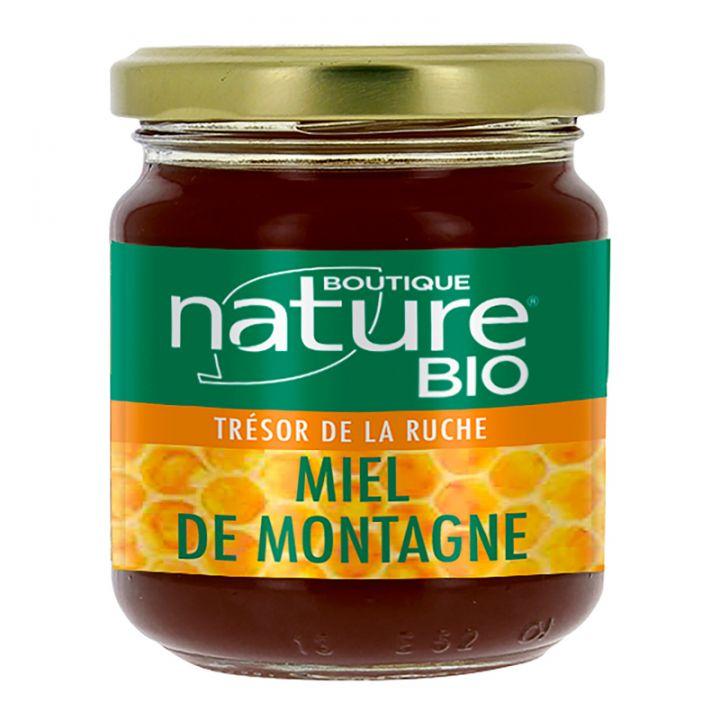 Miel de Montagne Bio 250g BOUTIQUE NATURE