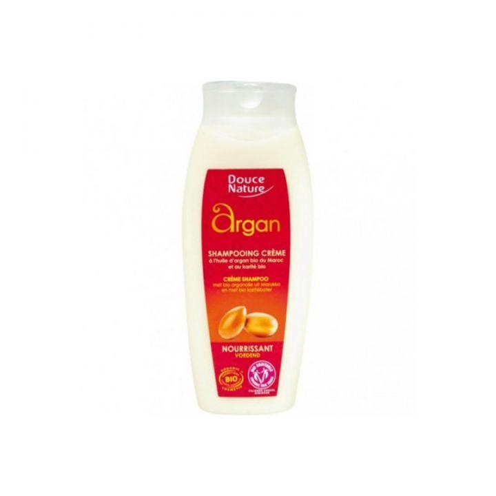Shampoing Crème Nourrissante Argan 250ml DOUCE NATURE