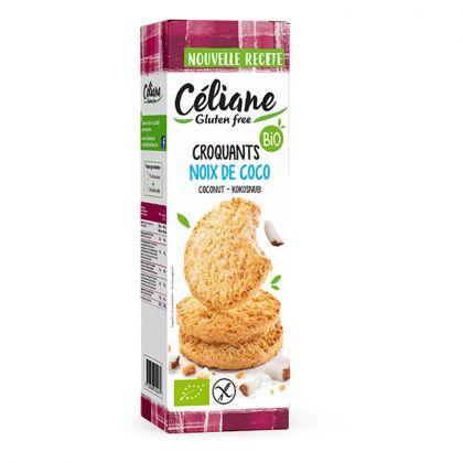 Biscuits Sablés Noix De Coco Bio 150g CELIANE