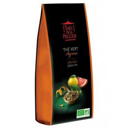 Thé vert agrumes - 100g