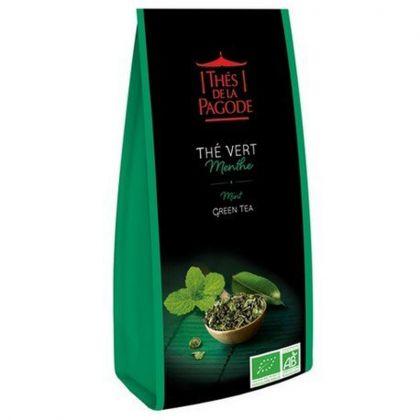 Thé vert menthe - 100g
