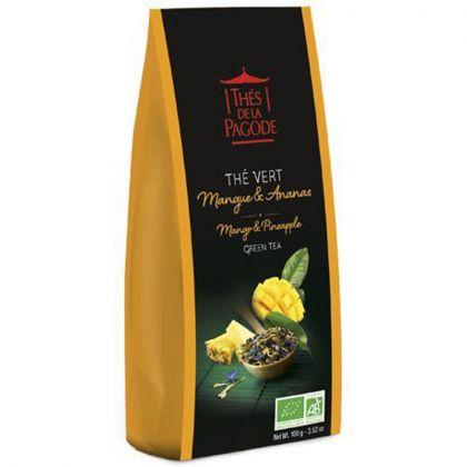 Thé vert mangue & ananas - 100g