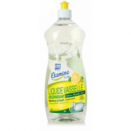 Liquide Vaisselle Citron Menthe 1l ETAMINE DU LYS - Belvibio