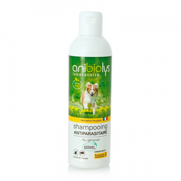 Shampooing antiparasitaire chien - 250ml