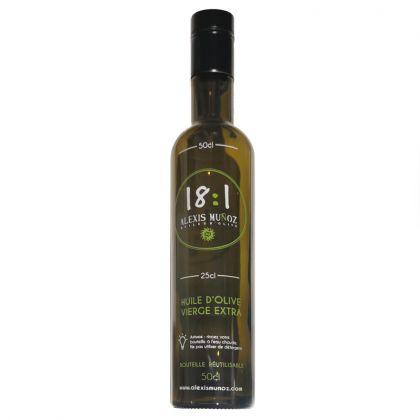 Bouteille en verre pour huile d'olive - 50cL